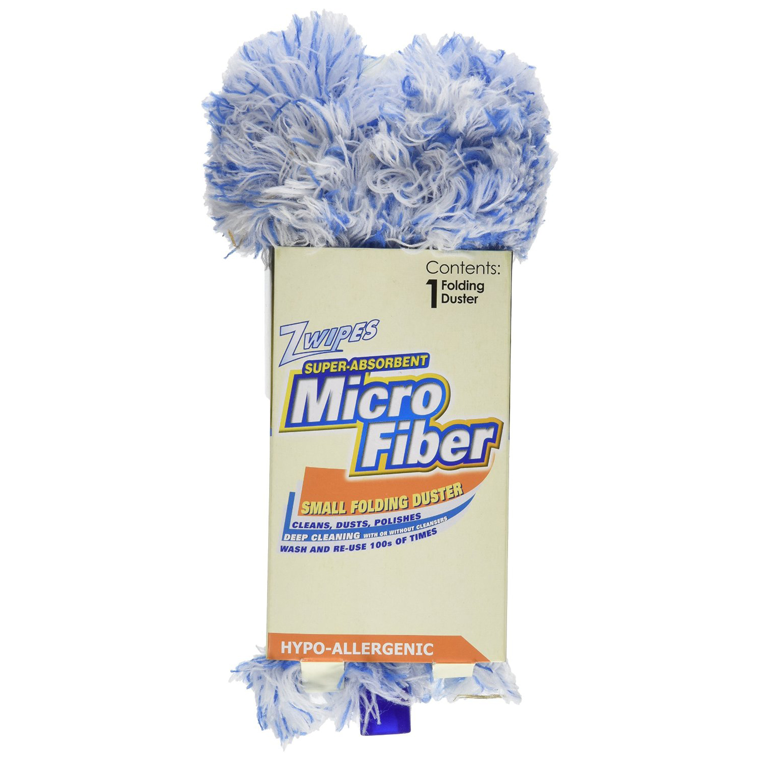 Zwipes Small Folding Microfiber Duster