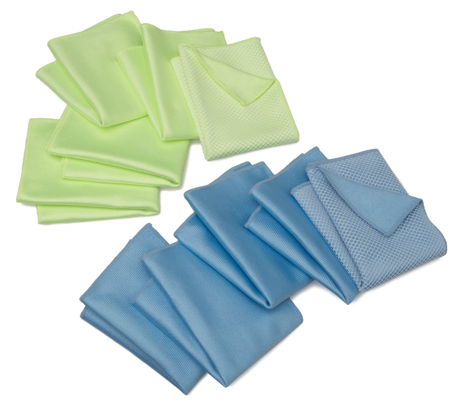 Zwipes Microfiber Windshield & Glass Cloth 10-Pack