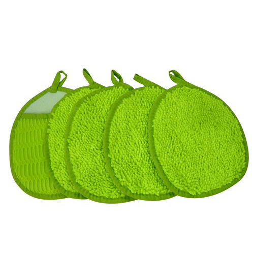 Zwipes Microfiber Thin Chenille Wash Mitt - Pack of 5