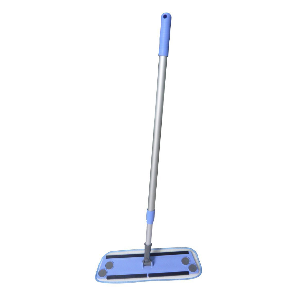 Zwipes Microfiber Cleaning Flat Mop with Pole, Use Dry or Wet by Zwipes