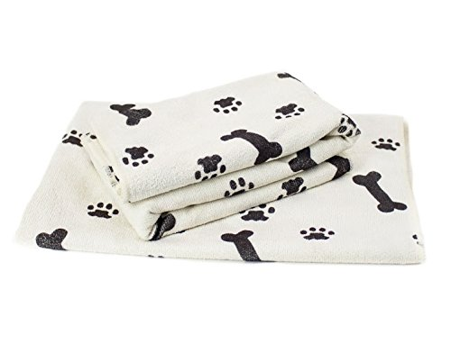 "Zwipes Large Microfiber Pet Towel 30"" x 36"", 2-Pack"