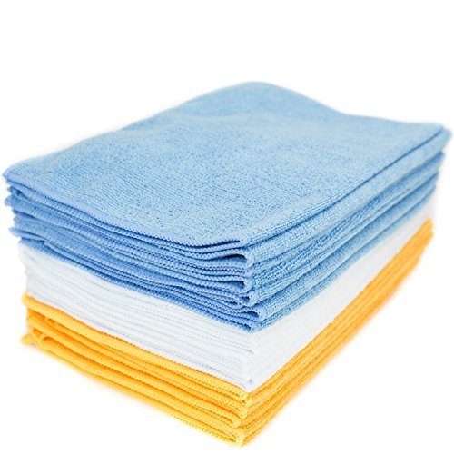 Zwipes 24 Pack Microfiber Cleaning Cloth and Towel