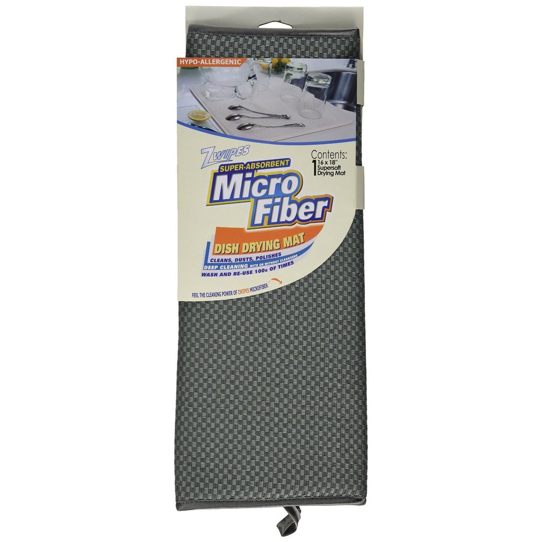 Microfiber Dish Drying Mat Zwipes Home