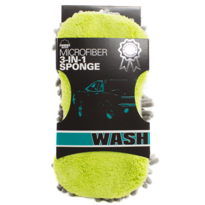 3-in-1 Pro Car Wash Sponge