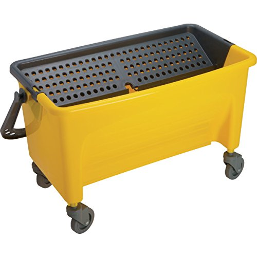 "Microfiber Mop Bucket for all 18"" Wet Mop Pads/Frame"