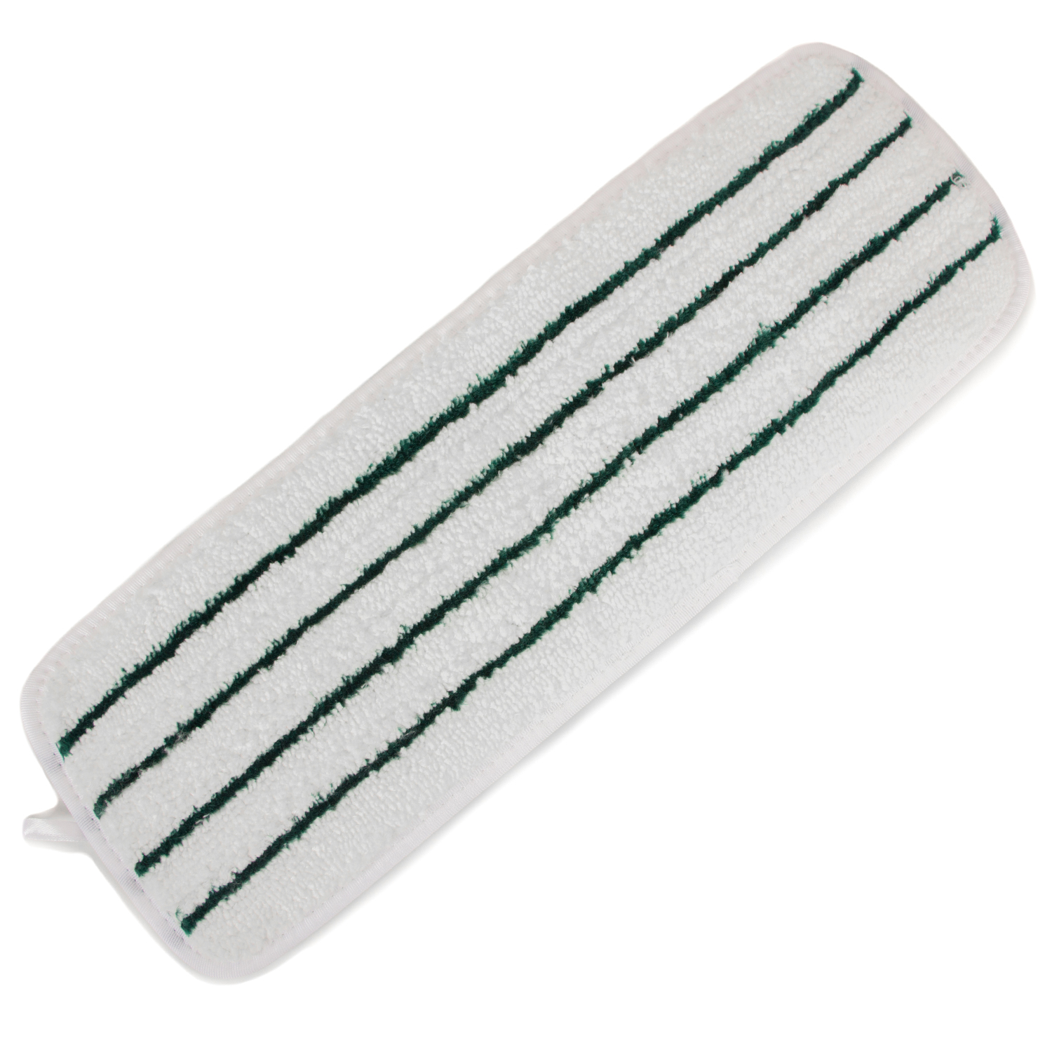 White Striped Microfiber Wet Mop Pad 18 Quot 3 Pack Zwipes Home