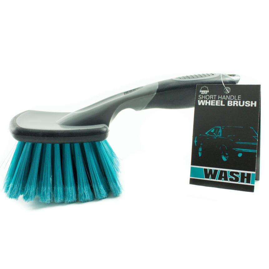 Car Wheel Brush Short Handle