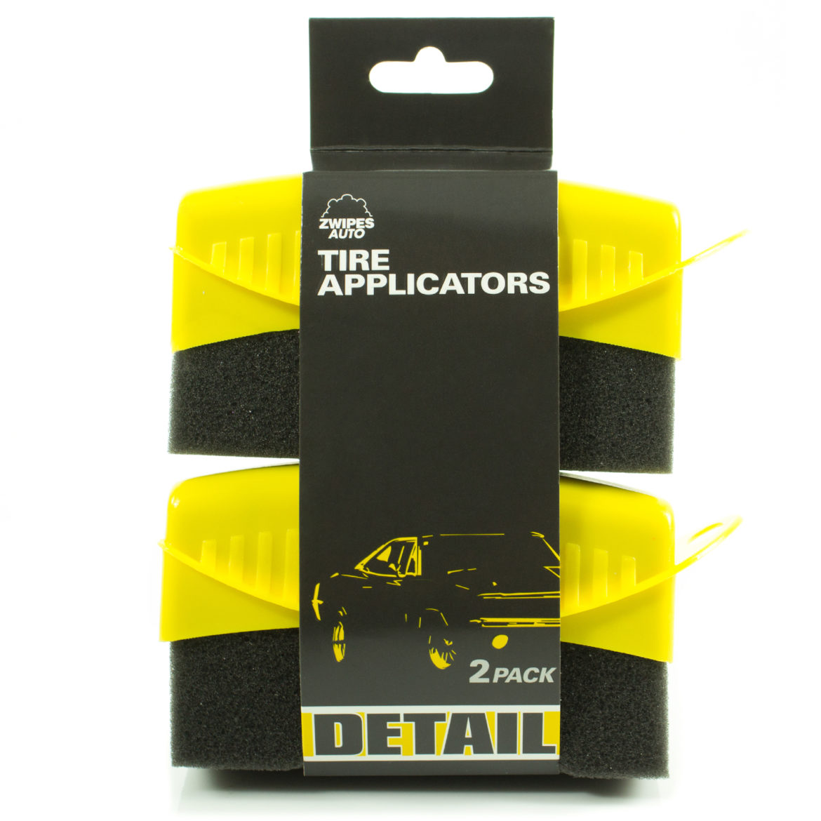 Tire Applicators, 2-Pack - Zwipes Auto
