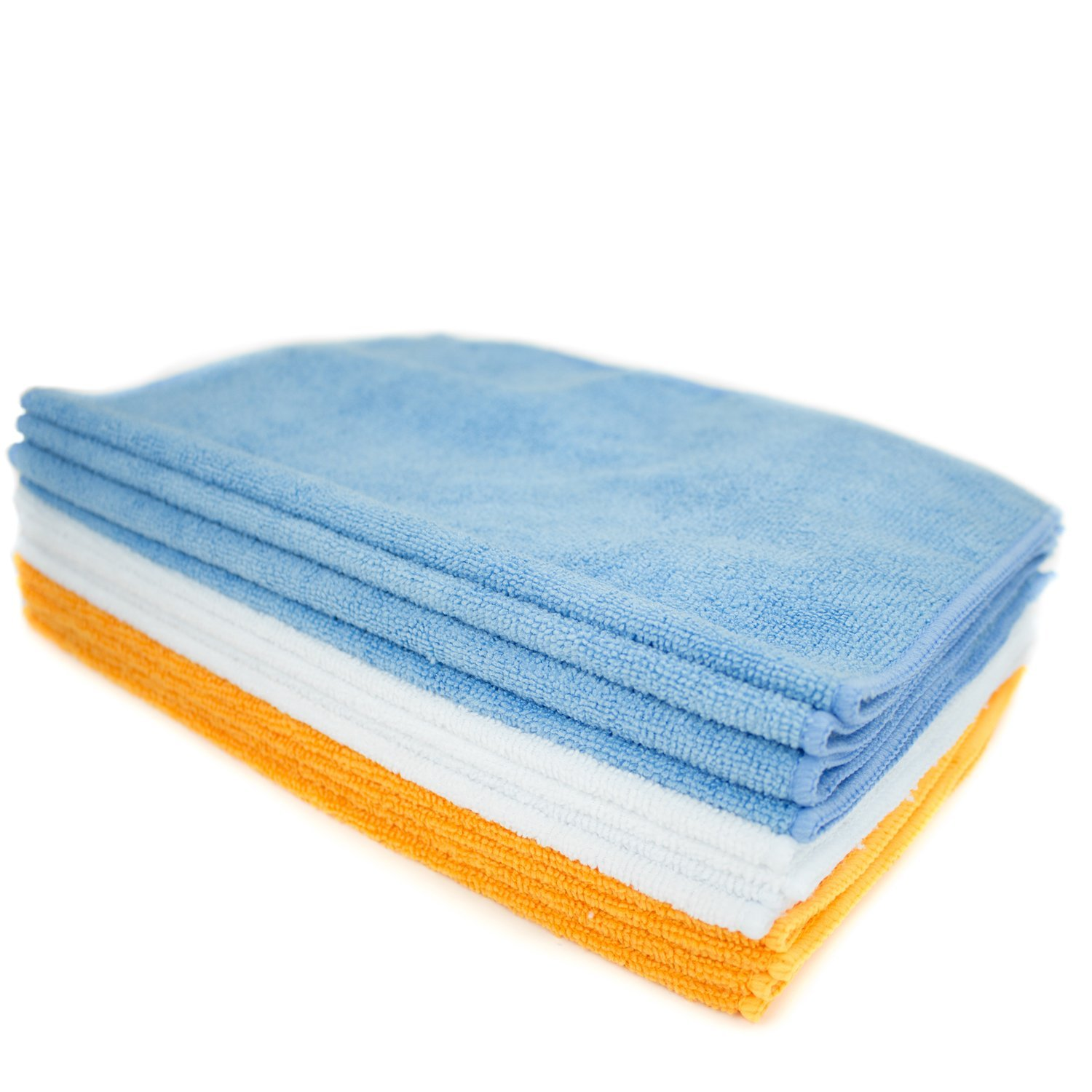 Microfiber Cleaning Cloths And Towels 12 Pack Zwipes Home